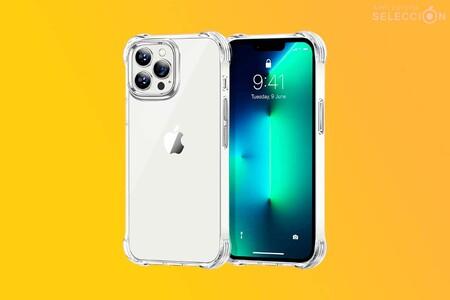 Protege tu nuevo e imponente iPhone 13 Pro Max con esta funda antigolpes transparente a mitad de precio en Amazon: 5,99 euros