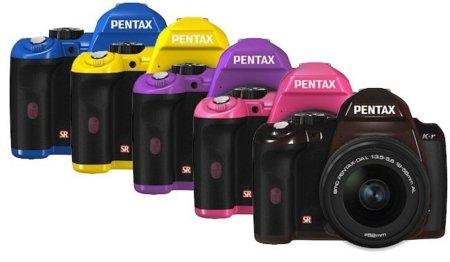 Las cámaras Pentax K-r apuestan al color