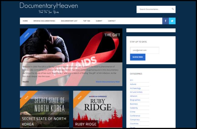 Watch Free Documentaries Online Documentary Heaven