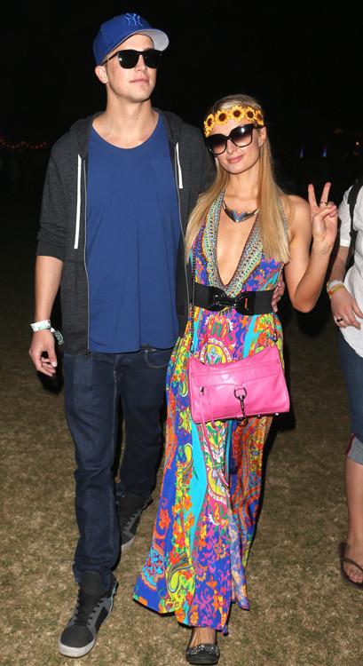 Paris Hilton Coachella 2013
