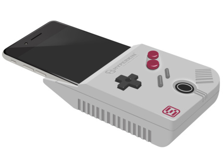 ¿Alguna vez imaginaste convertir un iPhone 6 Plus en una Game Boy?