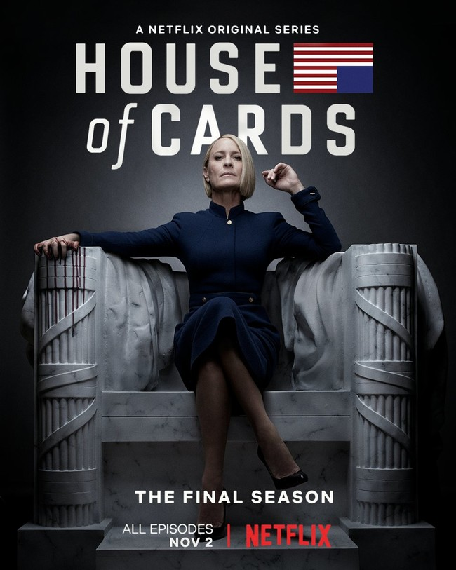 Póster de la sexta temporada de 'House of Cards'