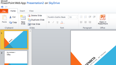 Office Web Apps ya está disponible para todos en SkyDrive