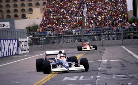 Jean Alesi Líder GP EE.UU 1990