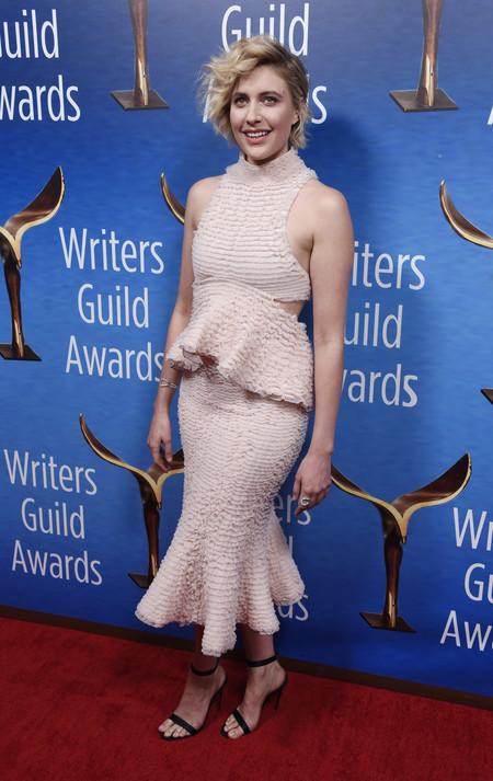 wga awards 2018 greta gerwig look estilismo outfit