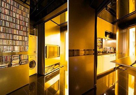 casas poco convencionales - hong kong - cocina