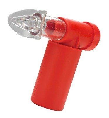 Solución a la adivinanza: el aparato sirve para potenciar la musculatura respiratoria