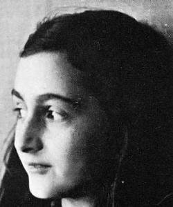 Ana Frank, a sus 80 años
