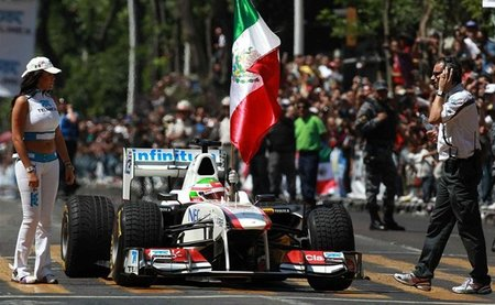 La Fórmula 1 debería volver a México, según Carlos Slim Domit