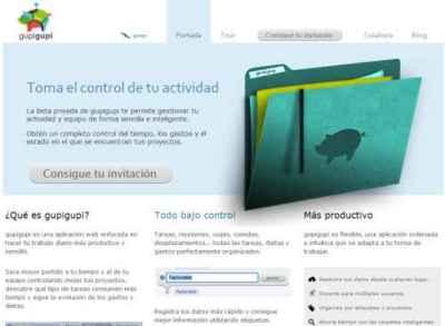 Gupigupi, nueva herramienta para la gestión de la actividad de los proyectos