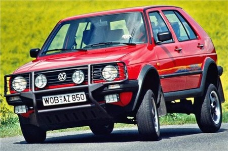Vw Golf Country 1
