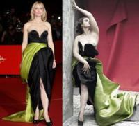 Crystal Renn protagoniza un editorial para Elle Italia