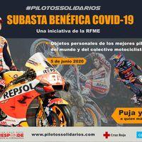 Un mono de Marc Márquez por 16.000 euros y una Bultaco Sherpa 250T por 4.700: así ha ido la subasta benéfica contra la COVID-19