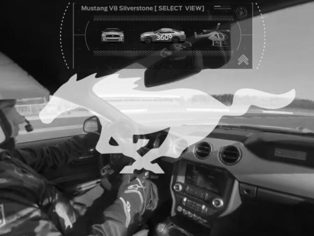 Ford te invita a recorrer el circuito de Silverstone a bordo de un Mustang…de forma virtual