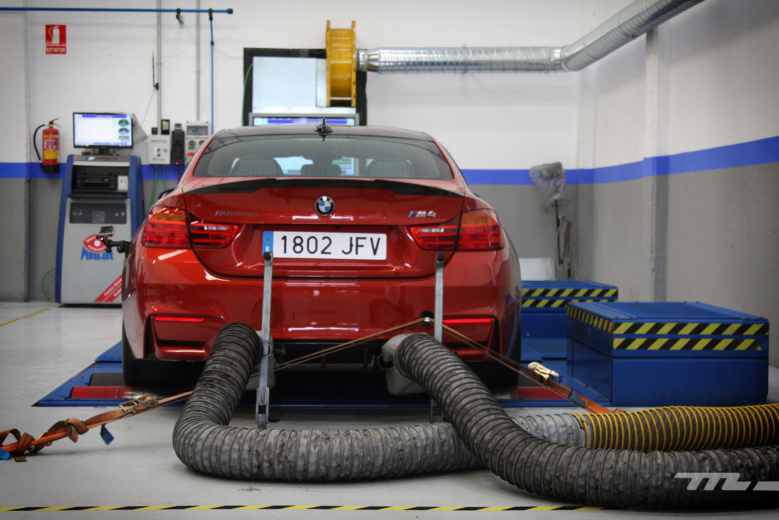 Foto de BMW M4 Performance (prueba en banco de potencia) (31/40)