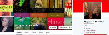 Margaret Atwood es muy activa en redes sociales