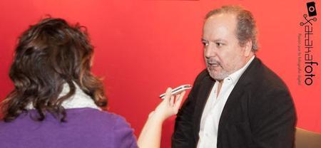 Entrevistamos a José María Mellado en la presentación de su nuevo libro