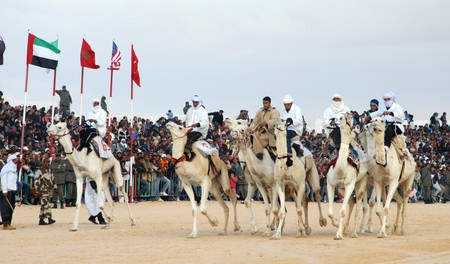 People Camel Bedouin Tunisia Camel Racing Douz 884443 Pxhere Com