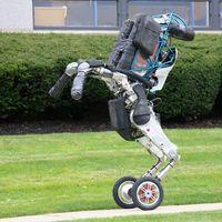 El asombroso robot bípedo con ruedas de Boston Dynamics se vuelve más útil y hábil para apilar cajas de forma autónoma