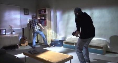 Tu habitación se convierte en escenario de un juego de Xbox con el nuevo RoomAlive de Microsoft