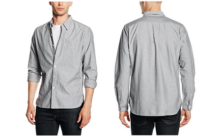 Chollo: camisa  para hombre Levi's Sunset 1 Pocket Shirt en gris por 26 euros en Amazon
