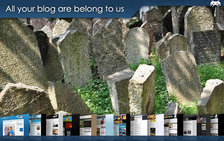 All your blog are belong to us (XXVII)