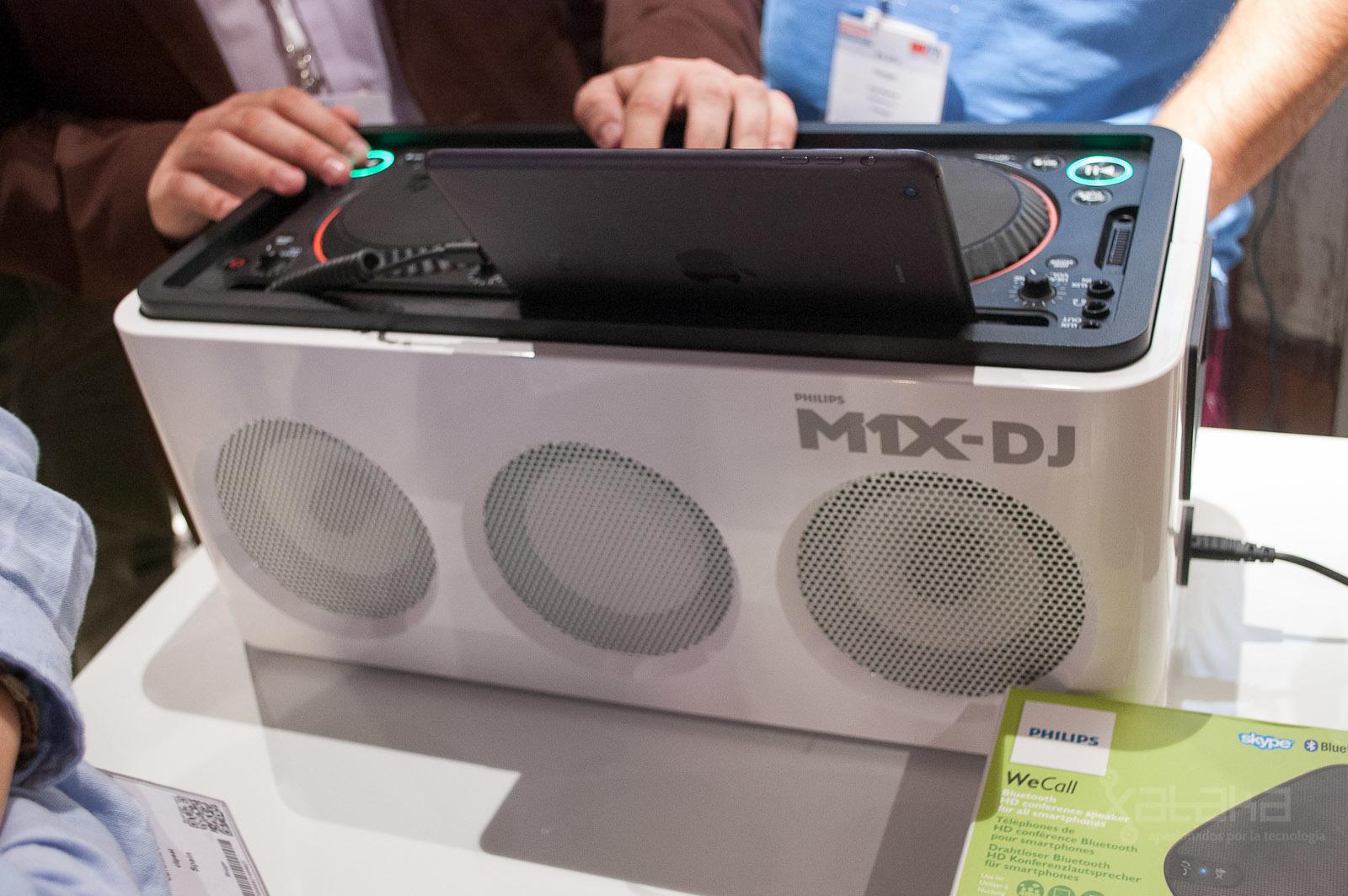 Philips M1X-DJ en IFA 2013