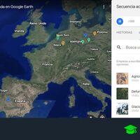 Cómo usar el Timelapse de Google Earth