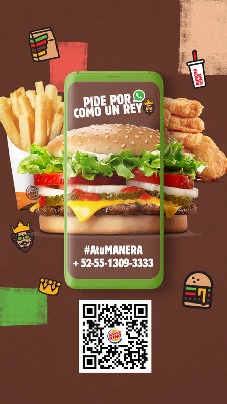 Chatbot Burger King Whatsapp