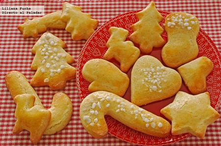 Mailänderli, galletas de mantequilla y limón de Navidad
