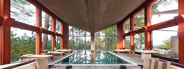 Casa Los Tecorrales, una de las últimas obras del arquitecto mexicano Rocardo Legorreta, es sencillamente espectacular