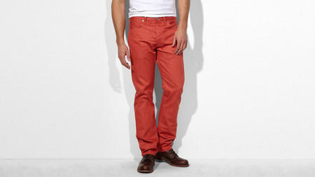 Pantalon rojo 501