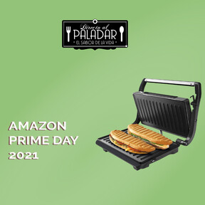 Últimas horas del Prime Day en Amazon: la sandwichera de Taurus para preparar los bocadillos más deliciosos por menos de 18 euros