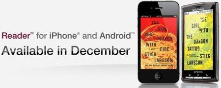 Sony Reader, otro lector de libros para iOS y Android