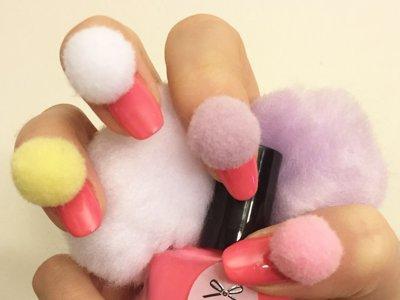 Las Pom-Pom Nails o la nueva manicura koreana que desembarca en Instagram