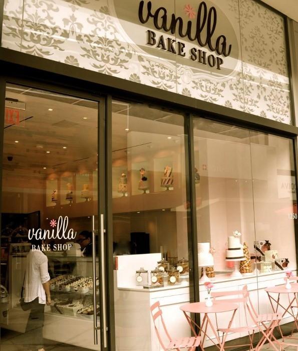 Cake House Interior Design : Vanilla Bake Shop y los cupcakes mas cool de L.A.