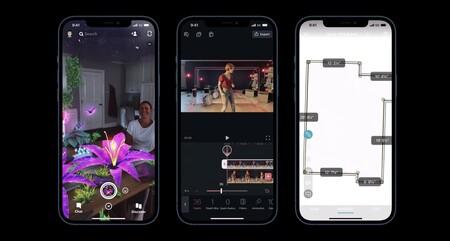 realidad aumentada iPhone 12 pro