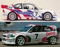 Hyundai y Toyota miran al mundial de rallyes