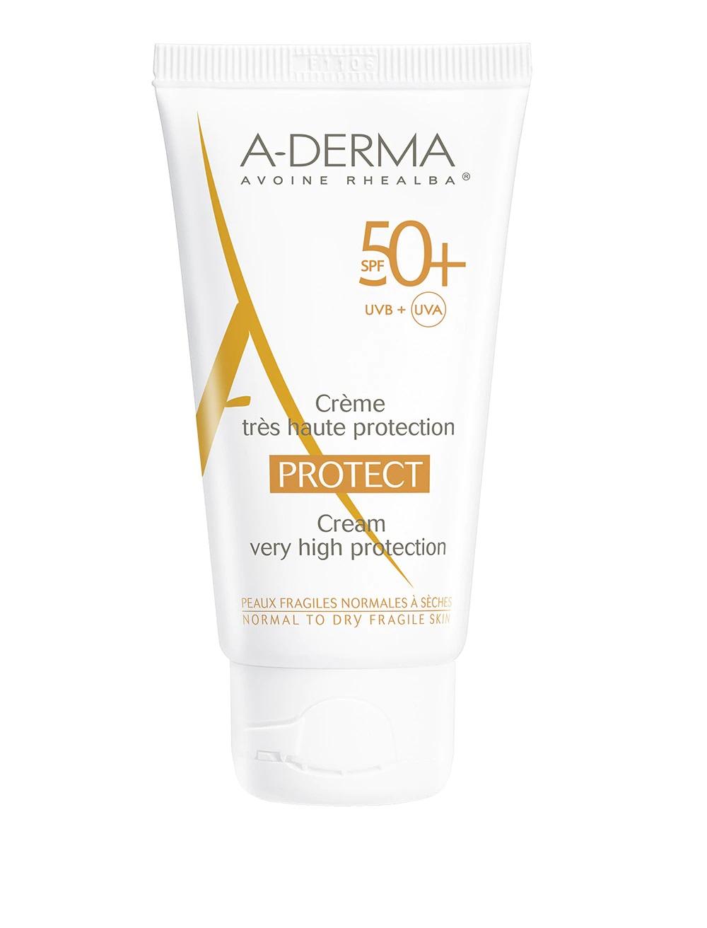 Protector solar facial para pieles frágiles 50+ de A-Derma