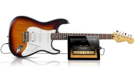 Fender Squier Stratocaster, la guitarra eléctrica para iPad