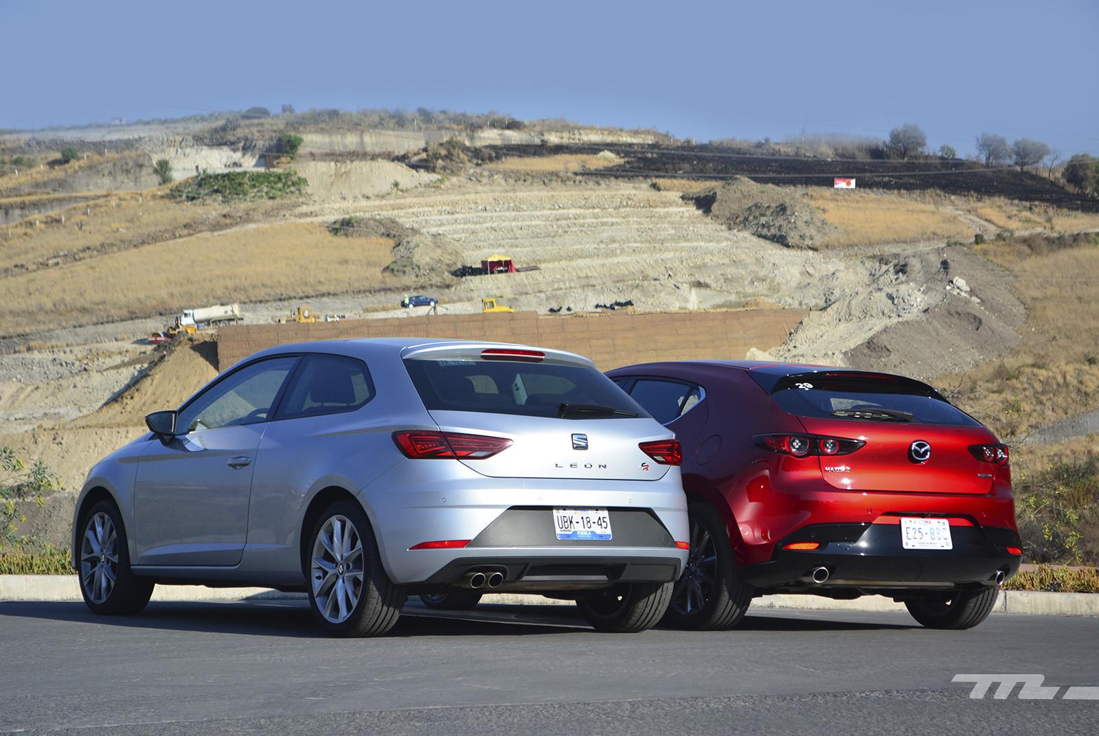 Foto de Mazda 3 vs. SEAT León (comparativa) (9/28)