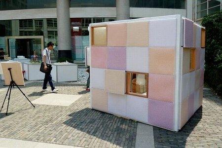 Una casa portátil y barata de emergencia