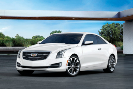 Cadillac ATS Coupe White Edition