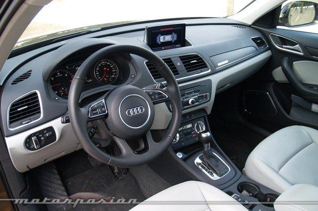 Audi Q3 quattro prueba interior 01