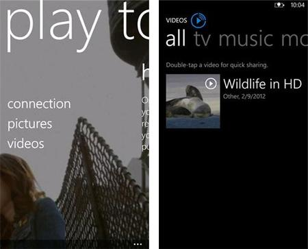 Nokia PlayTo llega a Windows Phone 8 pero aún en Beta