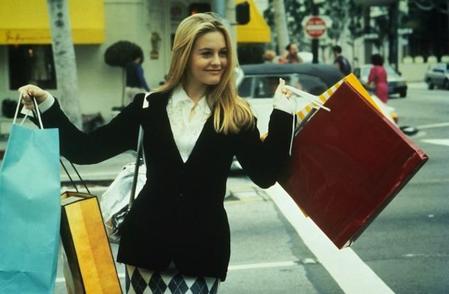 Clueless Cher Shopping