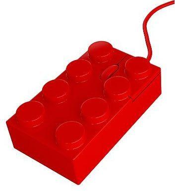 El ratón de ordenador de Lego