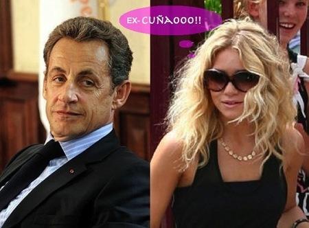 Parece que Mary Kate Olsen ya no llamará a Sarkozy... 'Cuñaooo'