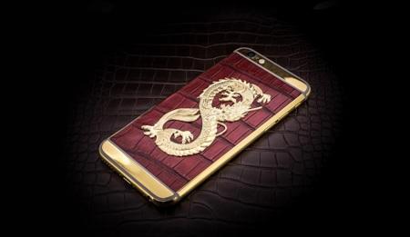 Golden Dreams interviene el iPhone 6 en Baselworld convirtiéndolo en un smartphone de lujo