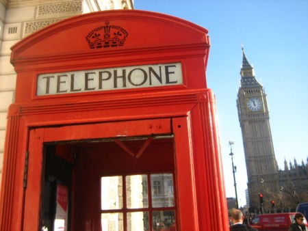 Telephone Big Ben